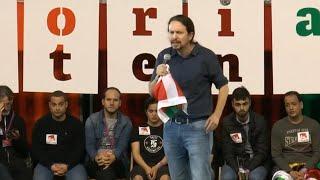 """Iglesias advierte de que habrá """"un gobierno de Rivera-Sánchez"""""""