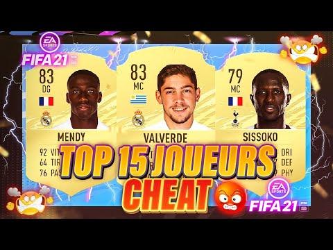 LES 15 JOUEURS CHEAT QUE VOUS DEVEZ CONNAITRE SUR FIFA 21 ( NOTES OFFICIELLES  ) - EPISODE 1