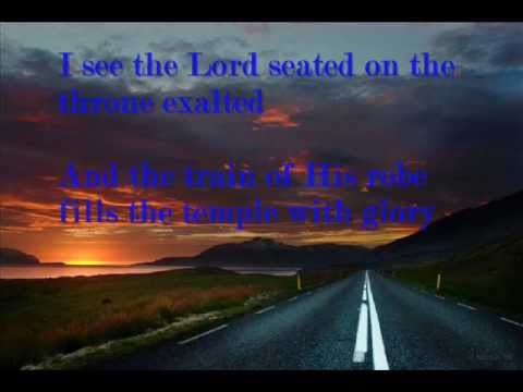 I see the Lord - Chris Falson (with lyrics)