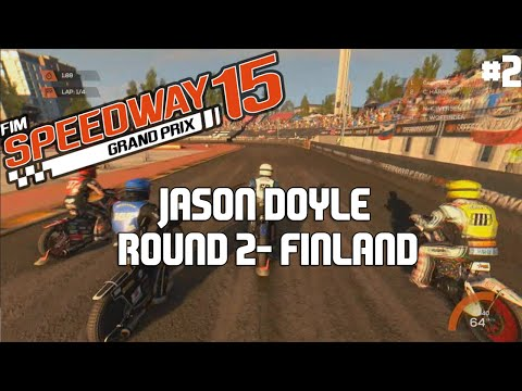 FIM Speedway Grand Prix 15 | Season Mode | Jason Doyle | #2