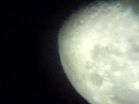 Moon with refractor 60 900 youtube