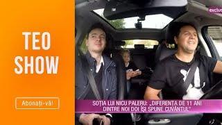 Teo Show (26.04.) - Nicu Paleru, prima aparitie cu sotia si fiica intr-un show TV! Test d ...