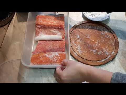 Как засолить кижуч в домашних условиях вкусно и быстро
