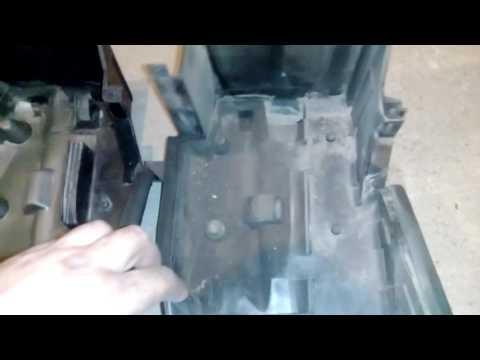 Nissan Maxima a32 Разница испарителей, и невозможность установки воздушного фильтра.