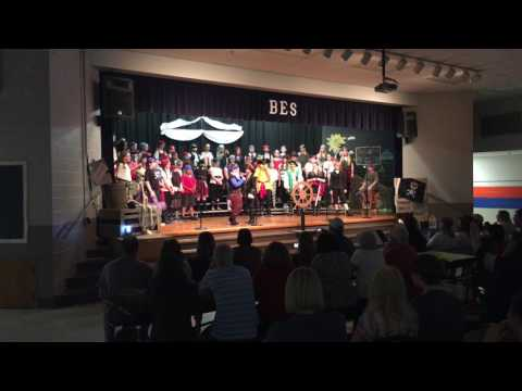 Beech Elementary 5th Grade Pirate Program  May 2017