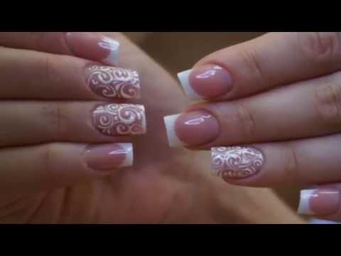 Как сделать квадратные ногти.Как сделать квадратную форму ногтей