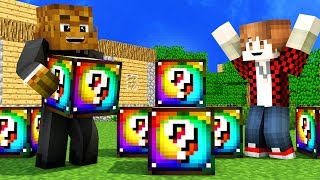 rainbow lucky block mod 1.8 download