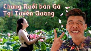 Cười vỡ bụng với Chung Ruồi bán gà  tại hội chợ thương mại Yên Sơn - TQ