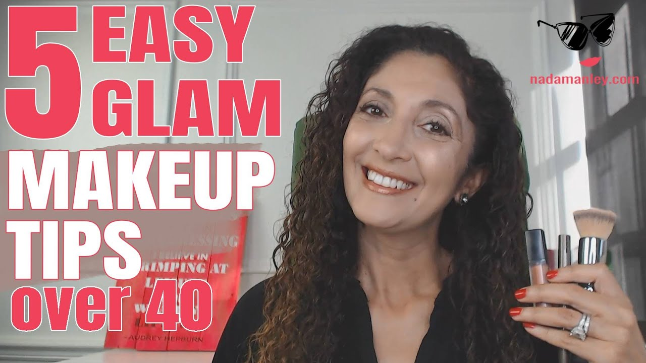10 Easy Holiday Makeup Tips for Women Over 10