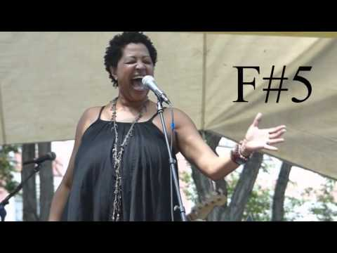 Lisa Fischer Full Vocal Range (A2 - G6) Live & Studio