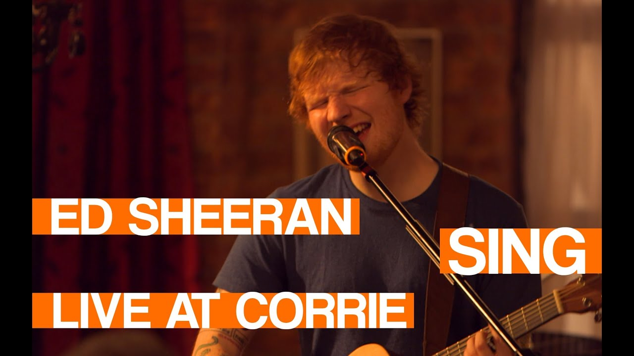 Download Ed Sheeran - Sing | LIVE at Coronation Street Tour | In:Demand