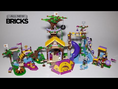 Lego Friends 41122 Adventure Camp Tree House With Rafting And Archery