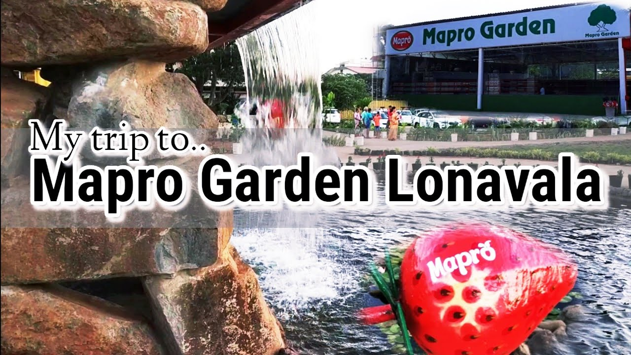 My Trip To Mapro Garden Lonavala Mapro Outlet Mapro Products Vlog Youtube