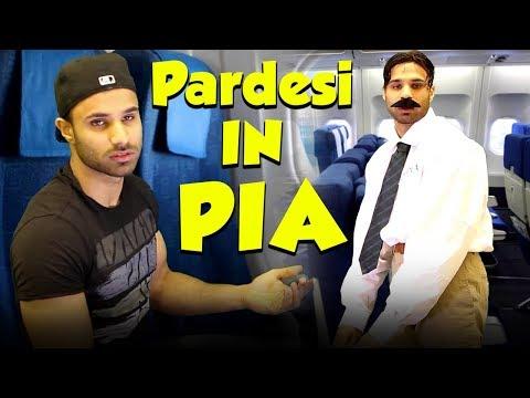 Pardesi In PIA | PIA Services | Rahim Pardesi | RP1 | Desi Tv Entertainment
