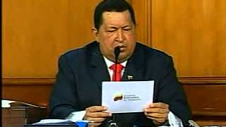 24 Jul 2012 Hugo Chávez presenta rostro digitalizado de Simón Bolívar