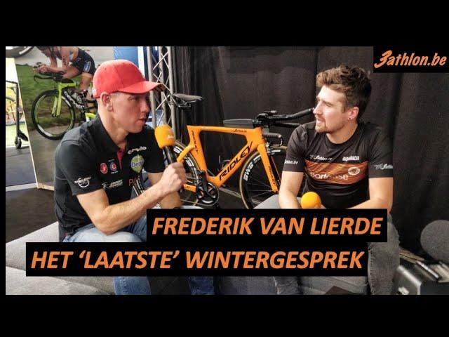 Frederik Van Lierde gaat zijn laatste seizoen in
