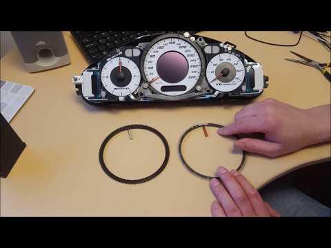 Mercedes E class AMG w211 CLK w209 Speedometer pointer repair