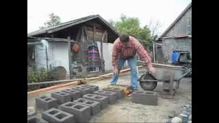 Изготовления шлакоблока в домашних условиях(, 2012-04-06T13:17:54.000Z)