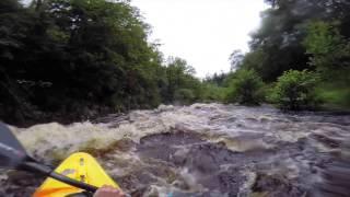 Afon Mawddach in the Pyranha Large 9R