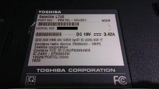 Tutorial Install Driver Toshiba L745 PSK10L 00U001 Win7 32bit x86
