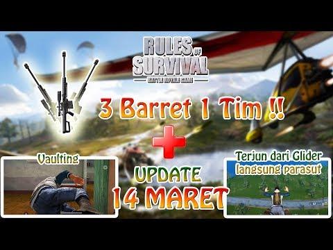 UPDATE 14 MARET BAKALAN KEREN !! - Rules of Survival Indonesia