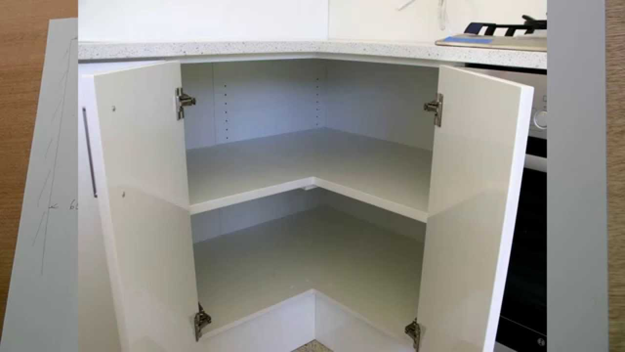 Corner cabinet, problems, and solutions. - YouTube
