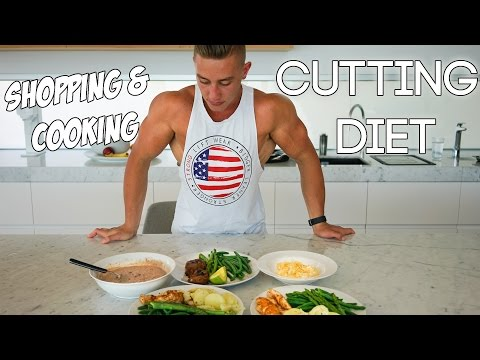 zac-perna--cutting-diet-|-shopping-and-cooking