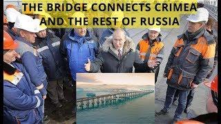 BREAKING: Putin Opens Europe's Longest 20km Kerch Strait Bridge Built in Record Two Years!