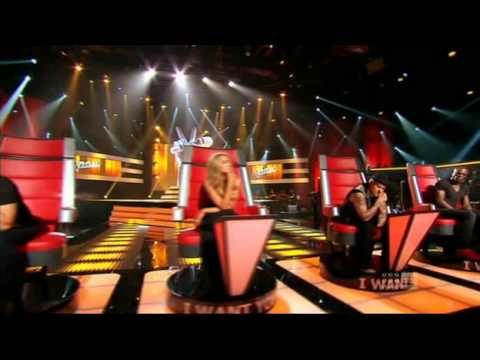 Gail Page  I put a spell on you Blind Auditions  The voice