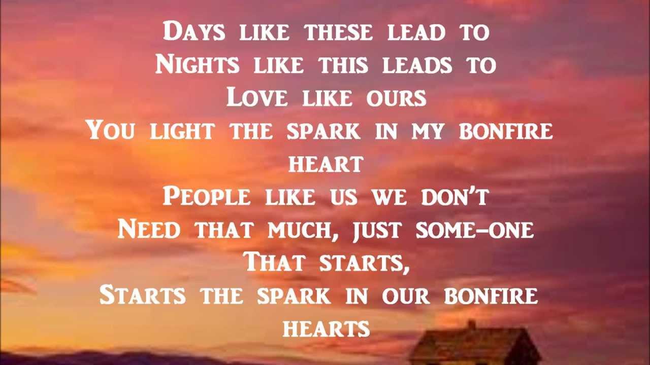 bonfire heart james blunt