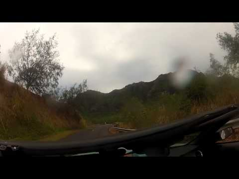 Kauai go-pro car video