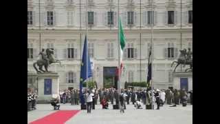 Inno Italiano a Torino 2/6/2012 Festa della Repubblica