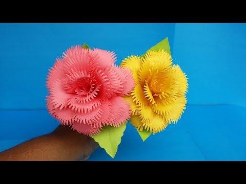 DIY: Paper Rose!!! How to Make Beautiful Realistic Paper Rose!!!