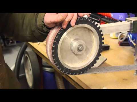 Handle shaping profiling knife making