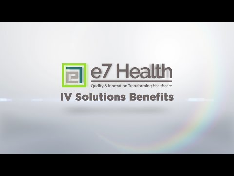 IV Solutions Benefits