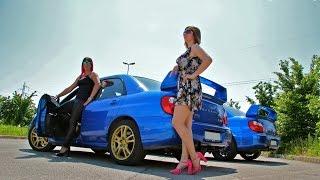 Repeat youtube video Street Racers Girls - Hélena and Sara racing Subaru Impreza - Fast Driving Girls (V057)