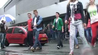 Flashmob fitpunt Hengelo