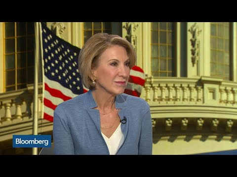 Fiorina Says Trump Needs Tax Reform to Show Results