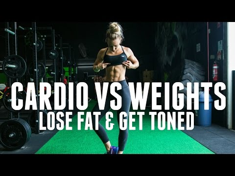 Cardio Vs Weights | How To Lose Fat And Get Toned