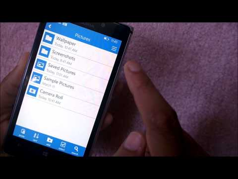 Briefcase - File Explorer App For Windows Phone