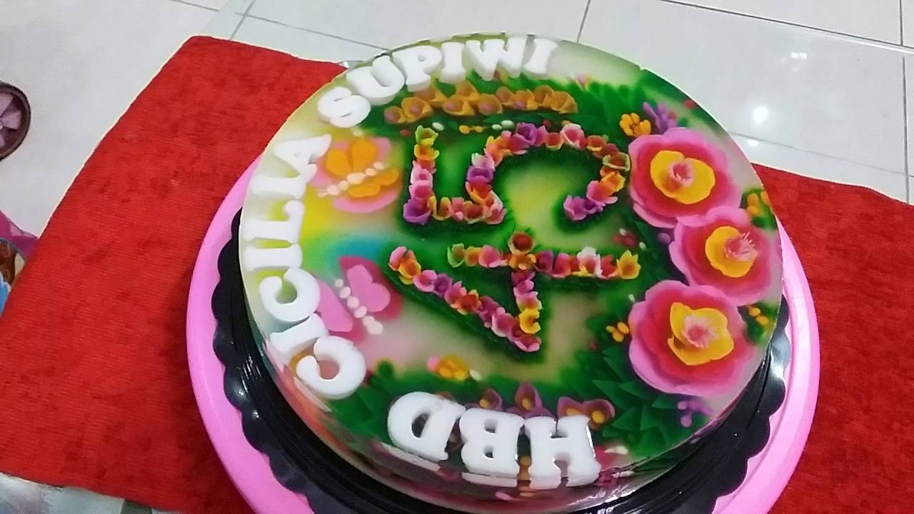 Resep Cara Membuat Jelly Art Puding 3d Youtube
