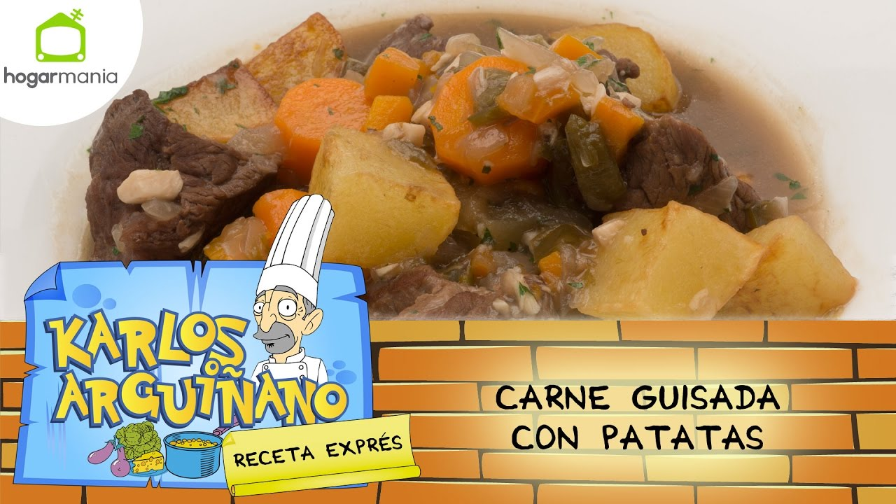 Karlos Arguiñano Receta De Carne Guisada Con Patatas Youtube