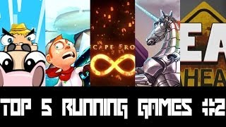 Top 5 Free Running Games iOS and Android December 2013