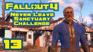 Let's Play Fallout 4: Never Leave Sanctuary Challenge - Part 13 - Cleanin Up The Farm
