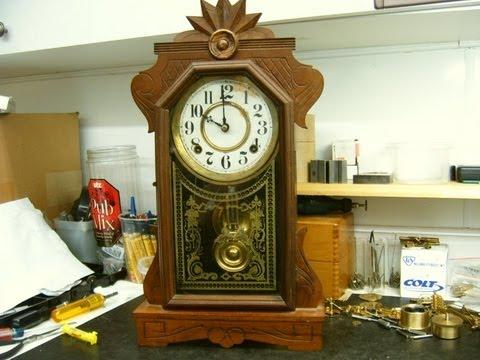 Ingraham Mantel Clock Repair Preview