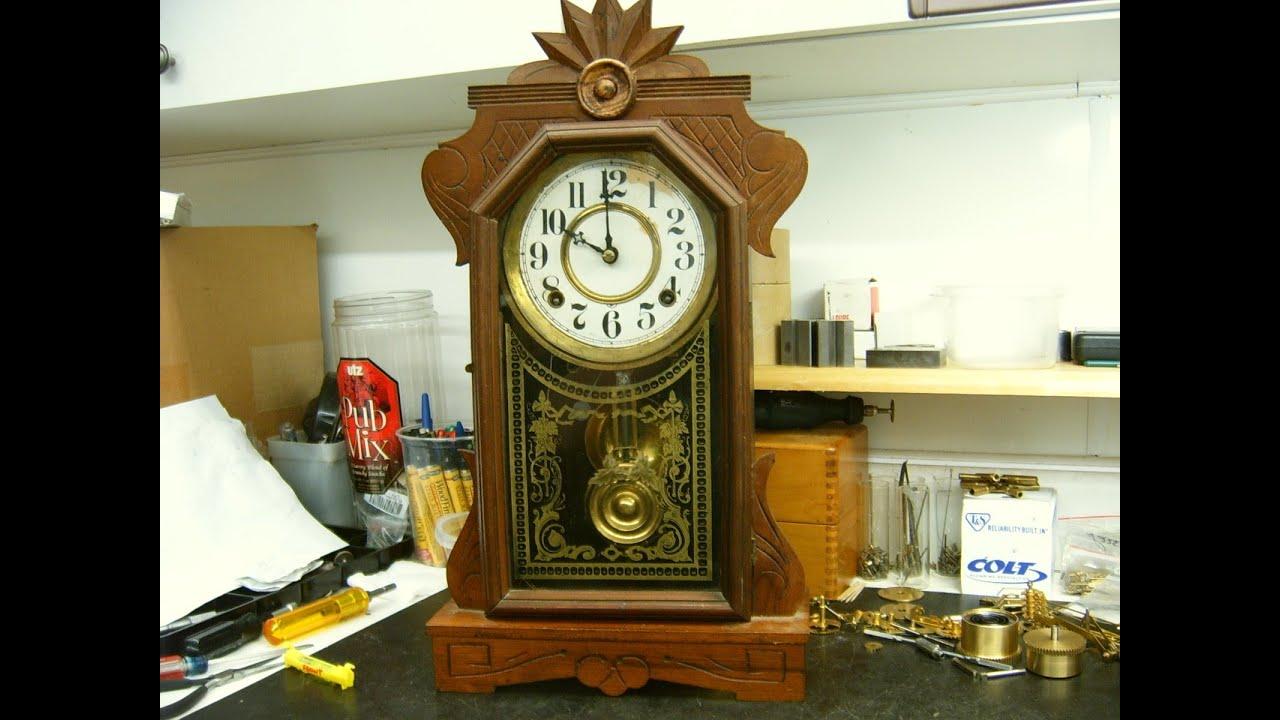Ingraham mantel clock repair preview youtube amipublicfo Choice Image