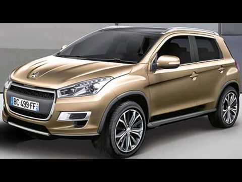2013 peugeot 2008 preview 208 suv european mitsubishi asx youtube. Black Bedroom Furniture Sets. Home Design Ideas