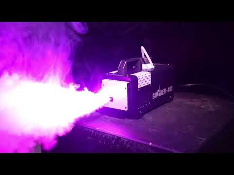 600W RGB color smoke machine