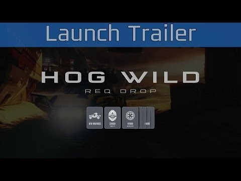 Halo 5: Guardians - Hog Wild REQ Drop Launch Trailer [HD 1080P/60FPS]