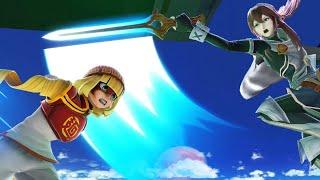 Super Smash Bros. Ultimate: Elite Smash: Carls493 (Min Min) Vs. MAXenergy (Lucina)